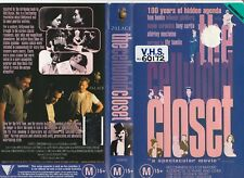 THE CELLULOID CLOSET TOM HANKS SUSAN SARANDON LILY TOMLIN RARE PAL VHS VIDEO