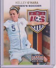 SWEET 2012 PANINI AMERICANA KELLEY O'HARA CARD #13  USA WOMEN'S SOCCER WORLD CUP