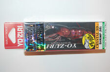 "yo zuri shrimp crystal jerkbait 3d f987-hrs 2 3/4"" 1/4oz holographic red"
