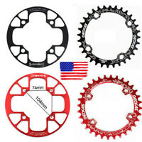 US DECKAS 32-38t 104bcd MTB Road Bike Sprockets Single Crankset Chainring Guard