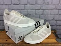 ADIDAS MENS UK 8.5 EU 42 2/3 OFF WHITE WINGS & HORNS GAZELLE 85 OG TRAINERS RARE