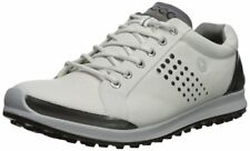 ECCO Men's Biom Hybrid 2 Hydromax Golf Shoe, White/Black, 44 Medium EU 10-10.5