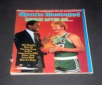 SPORTS ILLUSTRATED OCTOBER 29 1984 BILL RUSSELL & LARRY BIRD