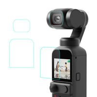 Protective Tempered Glass Screen Protector Lens Film 9H For DJI Osmo Pocket 2