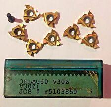 Vardex Carbide Inserts: - 3 ELAG 60 VSX V30Z-QTY. 8-NEU