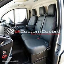 FORD TRANSIT CUSTOM - LEATHERETTE FRONT SEAT COVERS 2017 ON 161