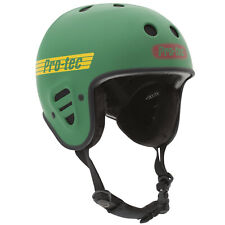 PRO-TEC FULL CUT CERTIFIED SNOW BOARDING SKI HELMET - MATTE RASTA GREEN