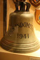 HMS INDOMINATABLE 1941 SHIPS BELL PICTURE