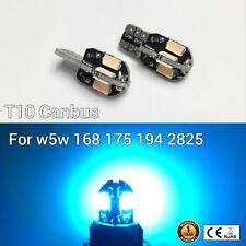 T10 W5W 194 168 2825 175 12961 Reverse Backup Light Ice Blue 8 Canbus LED M1 MA