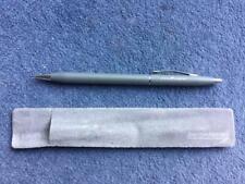 British Airways Concorde  Propel Pencil Circa 1990 Cross in  Suedette Sleeve