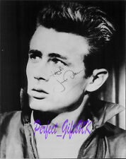 James Dean Rebel Without A Cause Circa SIGNED 10X8 REPRO PHOTO PRINT N2