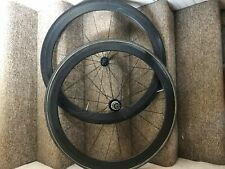 Reynolds Carbon 46mm Deep Tubular Wheelset 700c Shimano 10 Speed Road / Cx