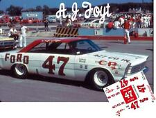 CD_1555 #47 A.J. Foyt   1965 Ford   1:64 scale decals