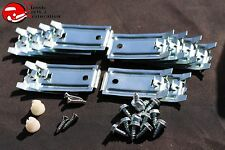 1964 1965 1966 Pontiac GTO Lemans Tempest Rocker Molding Clip Set New