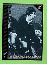 "1995 NEW ZEALAND  ALL BLACKS RUGBY UNION CARD  #36  DAVE  ""TRAPPER""  LOVERIDGE"
