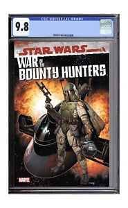 War Of The Bounty Hunters 1 CGC 9.8 Presale Steve McNiven