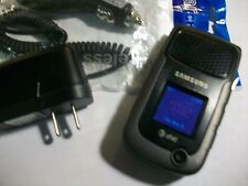 GOOD!!! Samsung Rugby 2 SGH-A847 Camera RUGGED PTT GSM Flip AT&T Cell Phone