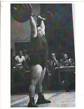 Weightlifting Photo Strongman Paul Anderson Bodybuilding Muscle B&W #2