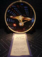 STAR TREK -  ENTERPRISE NCC 1701A - VOYAGERS SERIES -  HAMILTON COLLECTOR PLATE