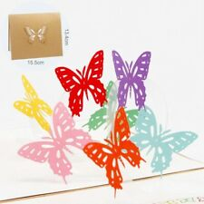 Birthday Greeting Cards Birthday Gift Butterfly Card 3D Valentine Gift
