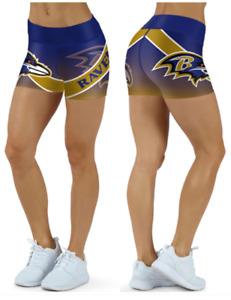 Baltimore Ravens Small to 2XL Women's Shorts