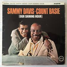 SAMMY DAVIS / COUNT BASIE - OUR SHINING HOUR  - VINYL LP RECORD