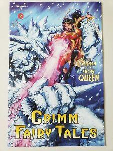 GRIMM FAIRY TALES Vol 2 #2 (2017) ZENESCOPE COMICS 1ST PRINT VARIANT COVER B