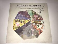 Booker T. Jones Rare Signed Vinyl LP Record The Road From Memphis Blues + COA