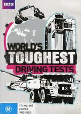 World's Toughest Driving Tests (2 DVDs) - Brand New - Region 4 - Aust Seller