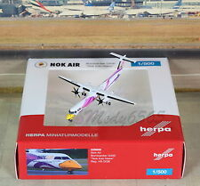 "Herpa Wings NOK Air ""Nok Kao Neaw"" Q400 (NG) ""New Release"" 1/500"