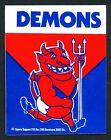 1982 Original Melbourne Demons Football Club Sticker Decal