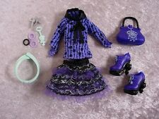 MONSTER HIGH 13 WISHES TWYLA DAUGHTER OF THE BOOGEY MAN OUTFIT FASHION NEW