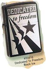 Dedicated To Freedom Zippo Lighter (20416)