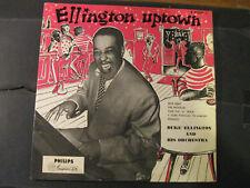 """DUKE ELLINGTON & ORCHESTRA """"Ellington Uptown""""  (PHILIPS IMPORT LP B-07008L)"""