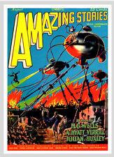 -A3 Size Poster Print Art Deco - War Of The Worlds Wells #16