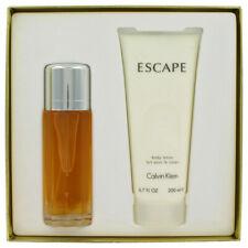 ESCAPE by Calvin Klein Gift Set EDP Spray + Body Lotion Perfume for Women
