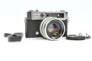 Yashica Lynx-14 35mm Rangefinder Camera w/Yashinon-DX 45mm f/1.4 Lens - AS IS