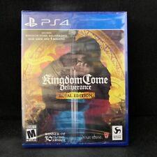 Kingdom Come: Deliverance (Royal Edition) (PS4) BRAND NEW