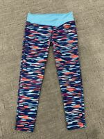 NIKE GIRLS CAPRI 3/4 TRAINING TIGHTS BLUE PINK ORANGE 6x