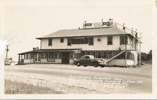 McConnellsburg PA * Tuscarora Summit Inn Rt. 30 RPPC c1940 Coca-Cola Sign Fulton