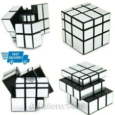 Rubix Rubics Mirror Cube Puzzle 3x3 Speed Game Brain Toy Gift for Kids & Adults