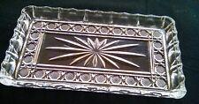 Lead Crystal Art Glass Trinket Tray