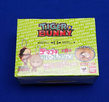 Bandai Tiger & Bunny Rubber Collection Key Chain Blind Box Sealed