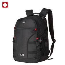 """Swiss 15"""" Waterproof Laptop Backpack Travel School Backpack Shoulder Bags SW9016"""