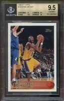 1996-97 Topps #138 Kobe Bryant Rookie Card BGS 9.5 (9 9.5 9.5 10)