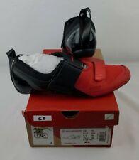NEW Trivent SC Mens Triathlon Shoes, Size EU 44 US 10.6 Black/Red $275