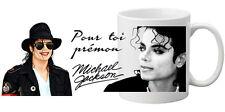 Mug (tasse) MICKAEL JACKSON personnalisé avec prénom (Incassable)
