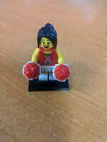 Red Cheerleader Series 8 Pom-Poms  CMF LEGO Minifigure Mini Figure Fig