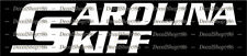 Carolina Skiff Boats -Outdoor Sports- CAR/SUV Vinyl Die-Cut Peel N' Stick Decals