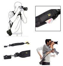 Quick Shoulder Sling Neck Strap Belt for Canon Nikon Digital DSLR Camera